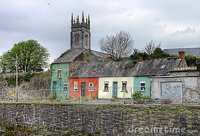 Camere nella città del Limerick - Irlanda.
