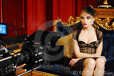 Camerman shooting film