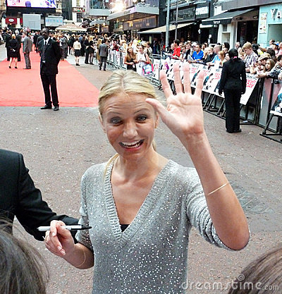 Cameron Diaz At Knight And Day Premiere Editorial Stock Photo