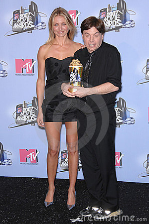 Cameron Diaz, Mike Myers Editorial Photo