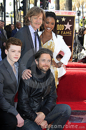Cameron Monaghan, Felicity Huffman, Justin Chatwin, Shanola Hampton, William H Macy Editorial Photography