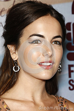 Camilla Belle Editorial Stock Image
