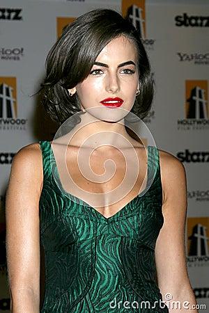 Camilla Belle Editorial Stock Photo
