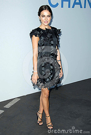 Camilla Belle, Karl Lagerfeld Editorial Image