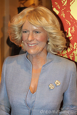 Camilla Duchess of Cornwall at Madame Tussaud s Editorial Image