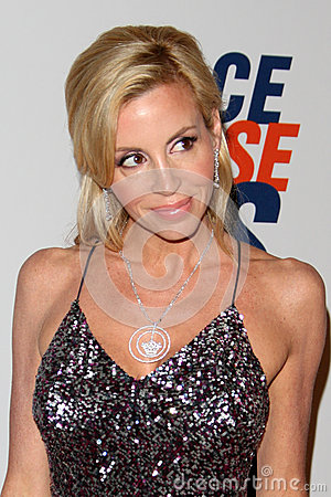 Camille Grammer arrives at the 19th Annual Race to Erase MS gala Editorial Stock Image