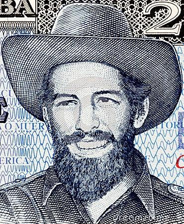Camilo Cienfuegos Editorial Stock Photo