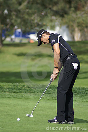Camilo Villegas Golfer 2011 Farmers Insurance Open Editorial Image