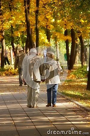 Caminhada do outono