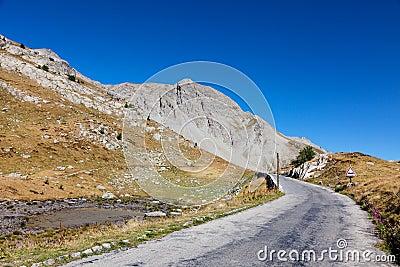 Camino de la alta altitud