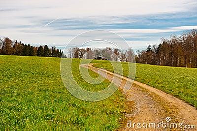 Camino de tierra