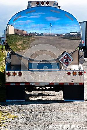 Camion-citerne de gaz