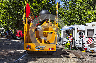 Camion de BIC Image stock éditorial