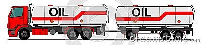 Camion de réservoir