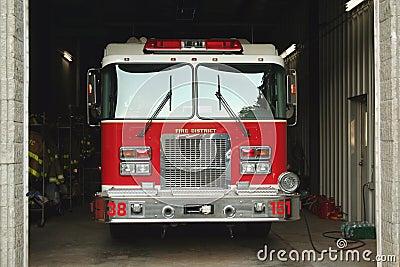 Camion dei vigili del fuoco