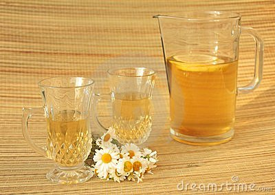 Camomile herbal tea