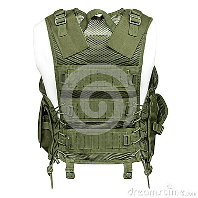 Free Camouflage, Military Body Armor, Mannequin Stock Photography - 91872022