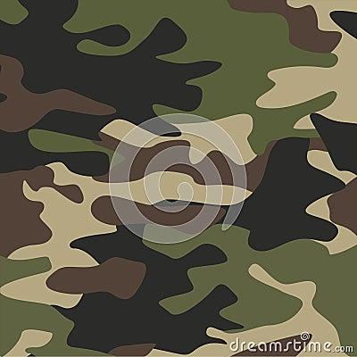 Camouflage pattern background Cartoon Illustration