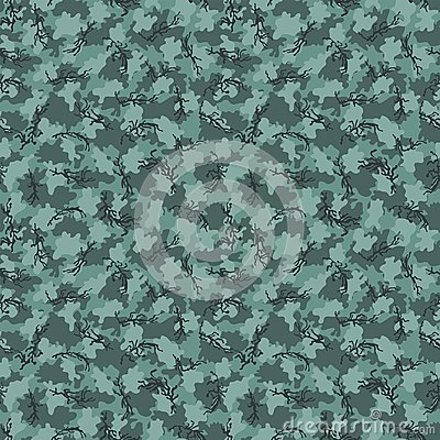 Camouflage pattern background seamless vector Vector Illustration