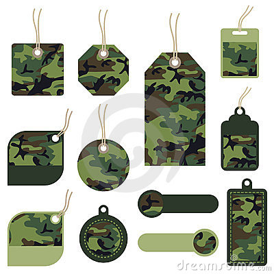 Camouflage tags