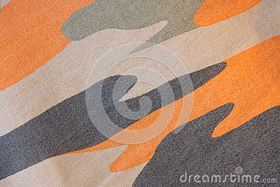 Camouflage textile