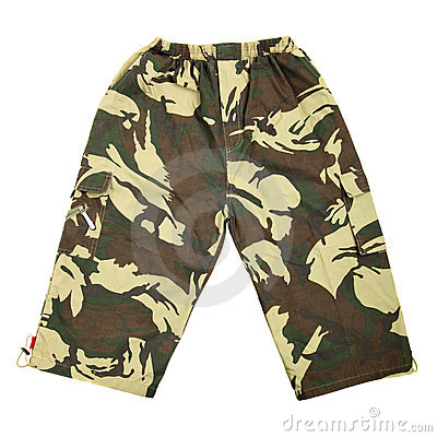 Camouflaged breeches