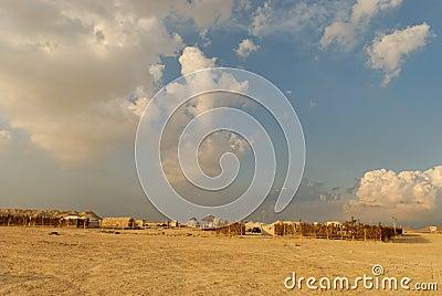 Camp de désert
