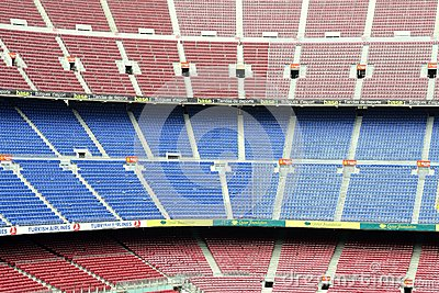 Camp Nou  Editorial Stock Photo