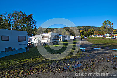 Camp site october 2012