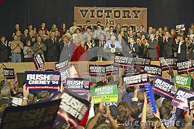 Campaign rally in Ohio Editorial Stock Photo