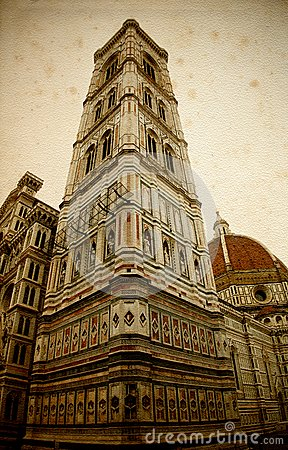 The Campanile built from Giotto