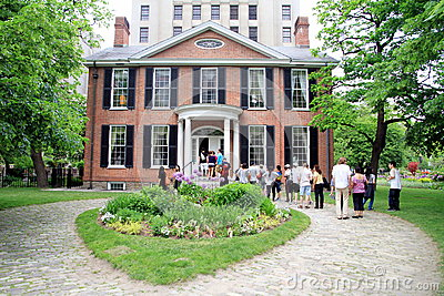 Campbell House Museum Editorial Stock Photo