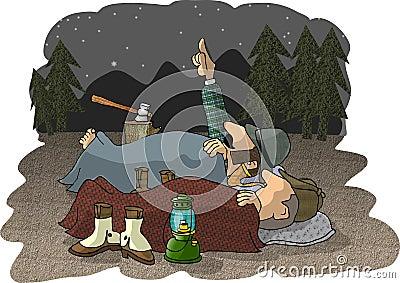 Campeggiatori all antica