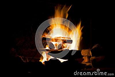 Campfire Ablaze