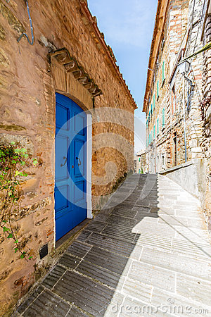 Free Campiglia Marittima Is An Old Village In Tuscany, Italy Royalty Free Stock Image - 41844206