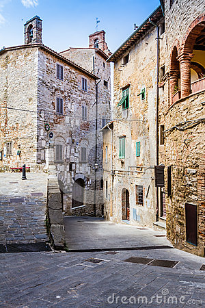 Free Campiglia Marittima Is An Old Village In Tuscany, Italy Stock Image - 41876121