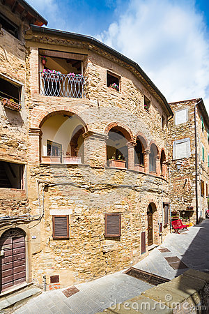 Free Campiglia Marittima Is An Old Village In Tuscany, Italy Stock Images - 42063484