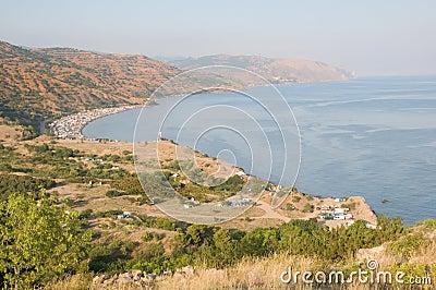 Campimg in Crimea