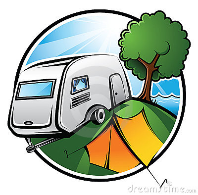Free Camping Area Royalty Free Stock Photography - 10651087