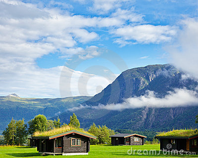 Camping cabins in Scandinavia