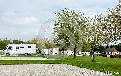 Camping Caravan Park Site