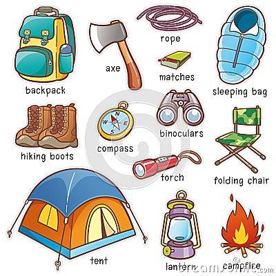 Free Camping Equipment Stock Photos - 97269043