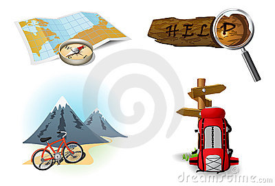 Camping icons 1