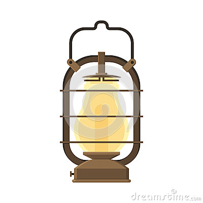 Free Camping Lantern Or Gas Lamp Stock Images - 76403884