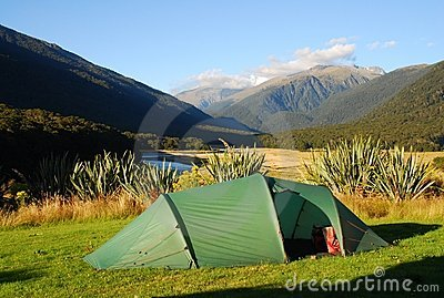 Camping in New Zealand