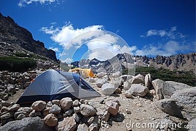 Camping in Patagonia