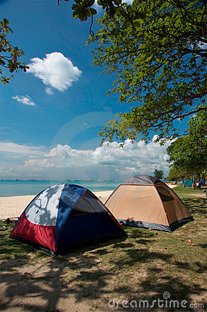 Free Camping Tents Stock Image - 20716961