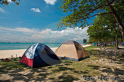 Camping Tents Editorial Image