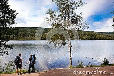 Camping Trip Walk