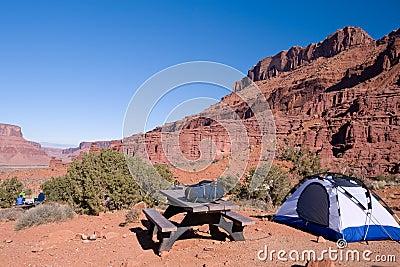 Camping in Utah